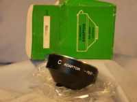 '   Nikon - C  Lens Mount  -BOXED-UNUSED- '  Nikon to C  Lens Mount Converter   Boxed -UNUSED- RARE £9.99